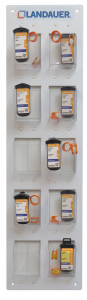 Tableau d'accrochage pour point radioprotection