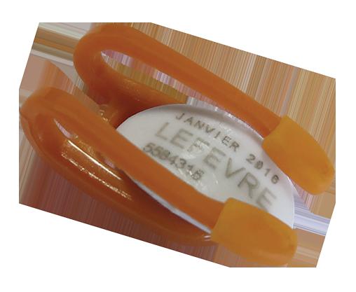 Lens of eye dosimeter