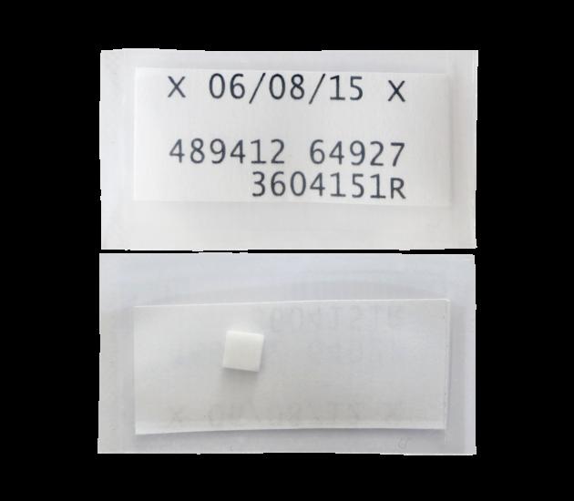 Dosimètre thermoluminescent sous forme de pastille TLD