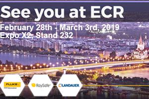 ECR 2019 - Landauer booth