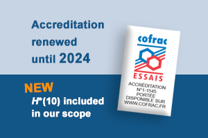 Cofrac accreditation